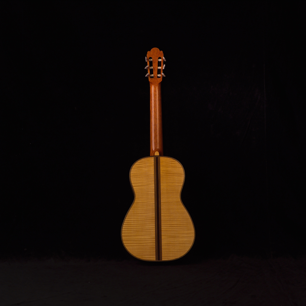 1864 Torres, Rear View | Daryl Perry Classical Guitars