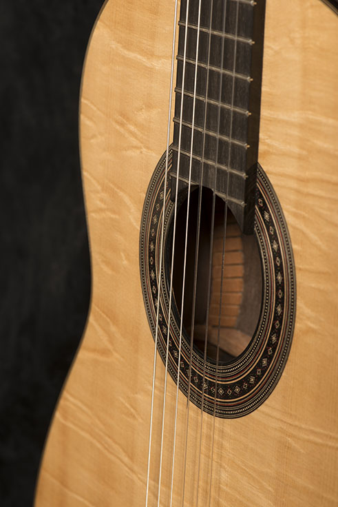 Guitar Body and Sound Box | Daryl Perry Classical Guitars
