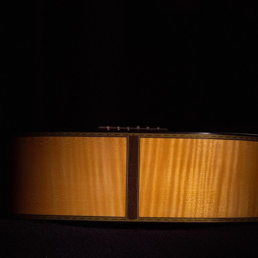 Guitar Body, Bottom View | Daryl Perry Classical Guitars